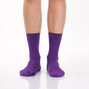 Фиолетовые носки
