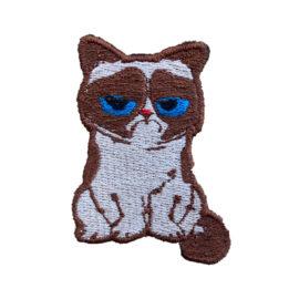 """Нашивка """"Грустный кот"""""""