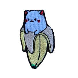 """Нашивка """"Котик в банане"""""""